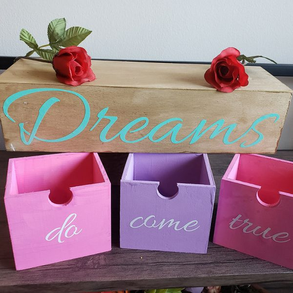 Wooden Dream Box
