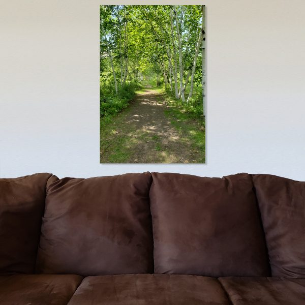 Nature Walk Canvas with background